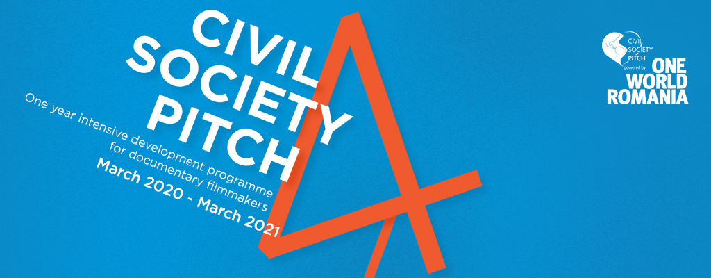 Apply now to Civil Society Pitch 2020!